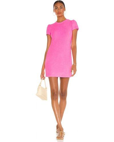 Розовое махровое платье Generation Love