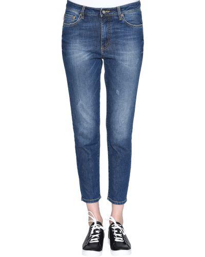 Хлопковые джинсы - синие Blauer