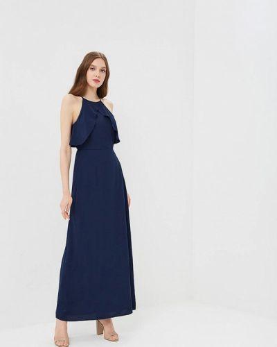 Синее платье весеннее Dorothy Perkins