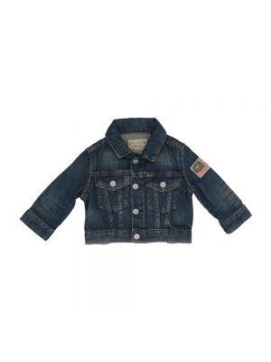 Niebieski kurtka jeansowa Ralph Lauren