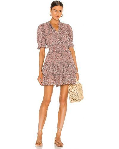 Шифоновое платье мини Cleobella