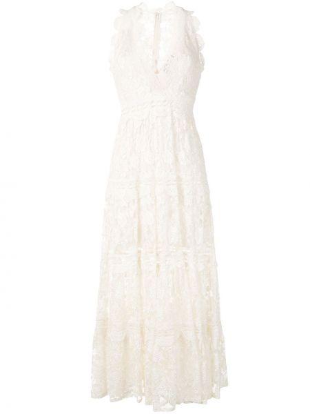 Прямое облегающее платье со вставками с V-образным вырезом на молнии Alexis