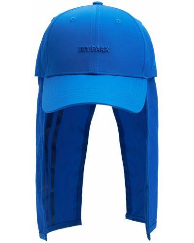 Синяя бейсболка с логотипом Adidas X Ivy Park