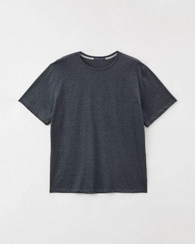 Серая футболка с короткими рукавами Fine Joyce