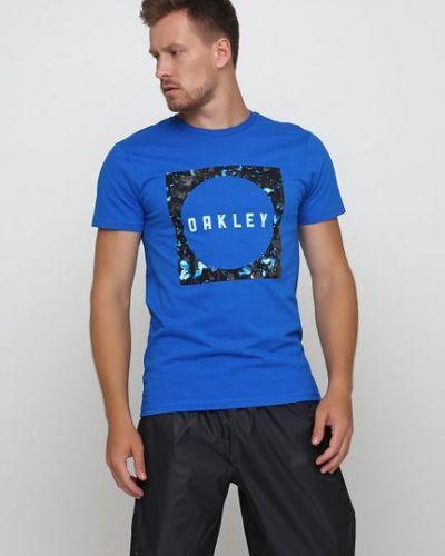 Футболка - синяя Oakley