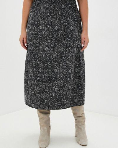 Серая юбка свободного кроя Gamelia
