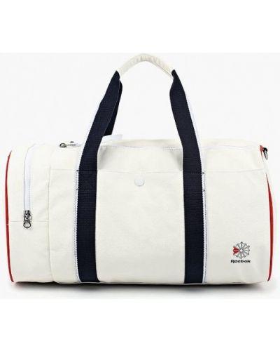Спортивная сумка кожаная Reebok Classics