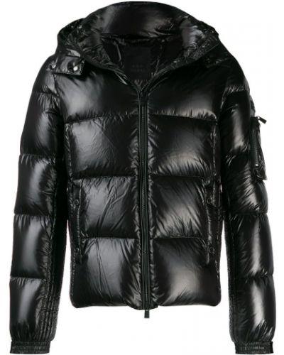 Куртка с капюшоном черная длинная Tatras