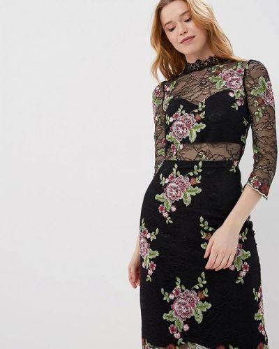Черное платье весеннее Morgan