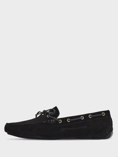 Замшевый черный топ Graf Shoes