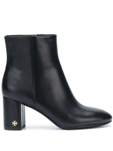 Сапоги на высоком каблуке черные на каблуке Tory Burch