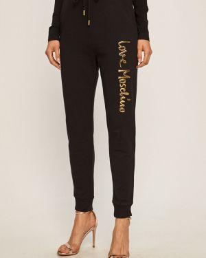 Spodnie na gumce z wzorem Kobza Love Moschino