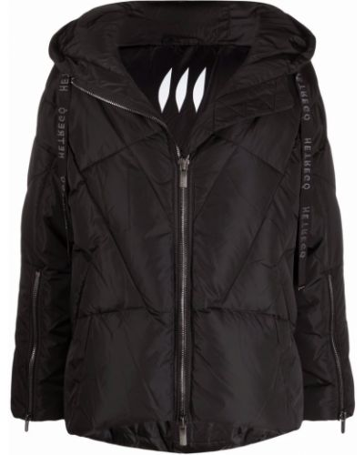 Дутая куртка - черная Hetrego