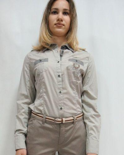 Серая рубашка Aeronautica Militare