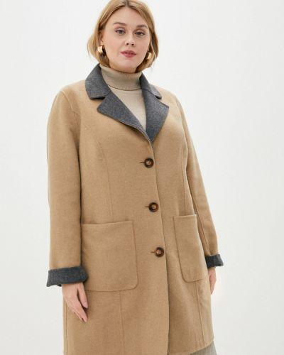 Серое пальто Ulla Popken