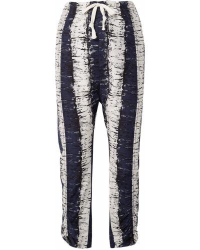 Ватные шелковые брюки в полоску By Malene Birger
