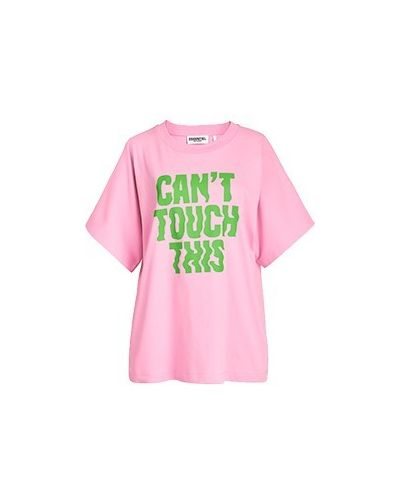 Хлопковая футболка - розовая Essentiel