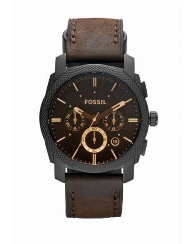 Часы коричневый Fossil
