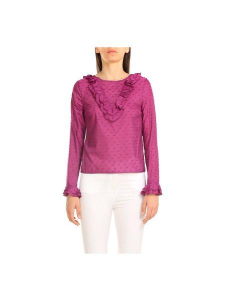 Fioletowa koszula Alessia Santi