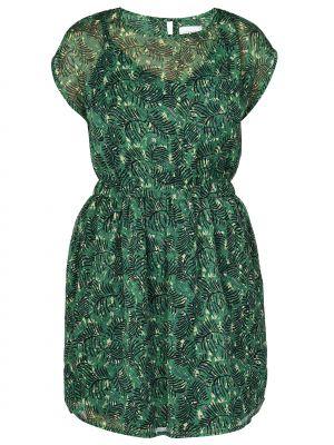 Платье из полиэстера - зеленое Compania Fantastica