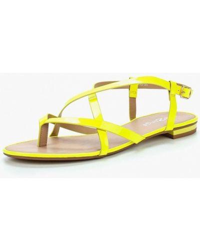 Желтые сандалии Amazonga