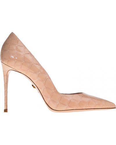 Кожаные туфли на каблуке на каблуке Le Silla