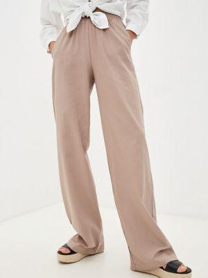 Бежевые брюки летние Irma Dressy