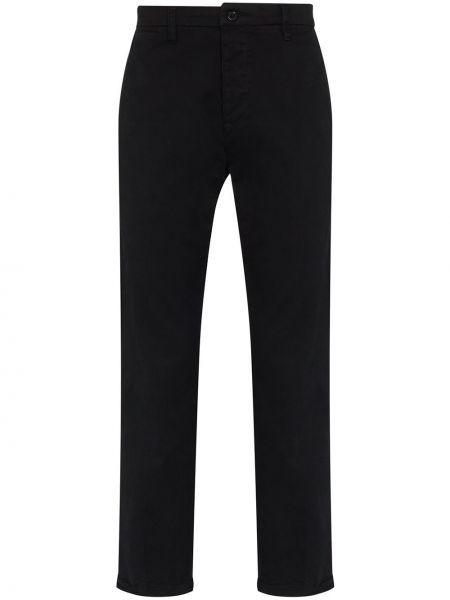 Spodnie bawełniane - czarne Neuw