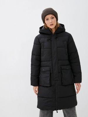 Утепленная куртка - черная Jdy