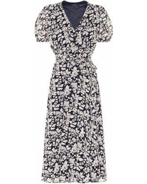 Платье с цветочным принтом платье-поло Polo Ralph Lauren