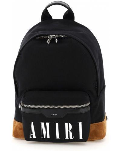 Czarny plecak Amiri