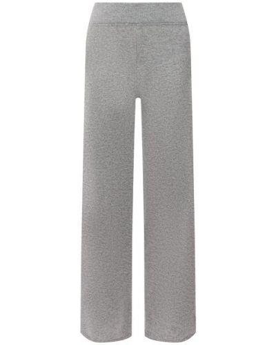 Кашемировые брюки - серые Le Kasha