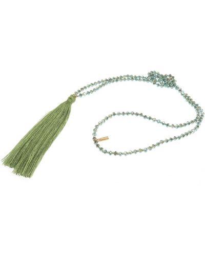 Naszyjnik - zielony Tatami