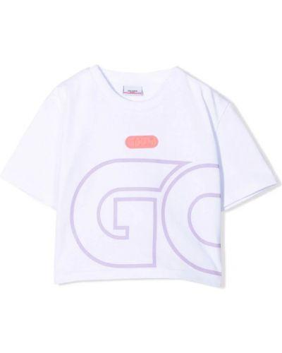 Biała t-shirt Gcds