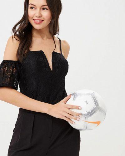 Черное боди блуза Naanaa