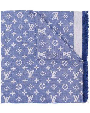 Синий шарф Louis Vuitton Pre-owned