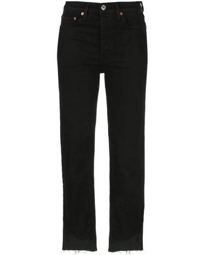 Czarne jeansy Re/done