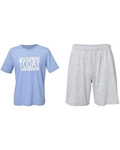 Пижама с шортами - серая Royal Class