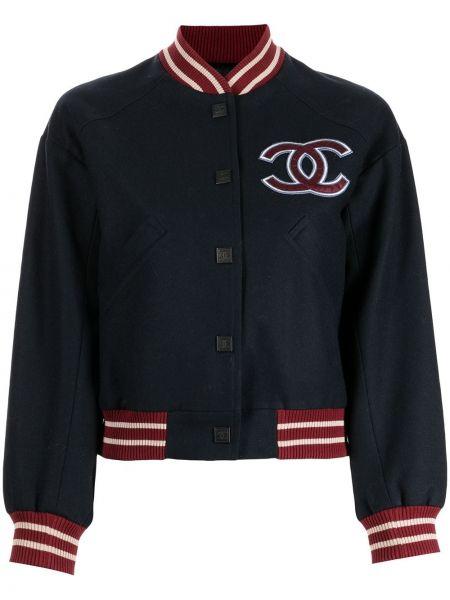 Красная куртка на пуговицах Chanel Pre-owned