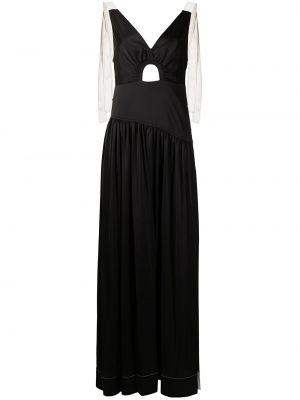 Платье макси длинное - черное 3.1 Phillip Lim