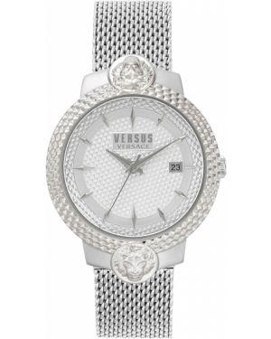 Водонепроницаемые часы кварцевые серые Versus Versace