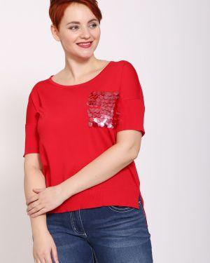 Пуловер - красный Just Valeri