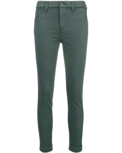 Укороченные брюки хлопковые зауженные J Brand