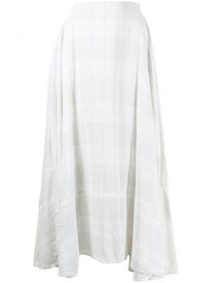Biała spódnica z wiskozy Maticevski