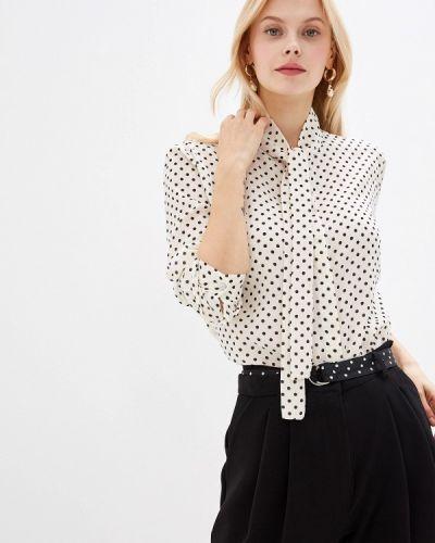 Блузка с длинным рукавом итальянский белая Miss Miss By Valentina