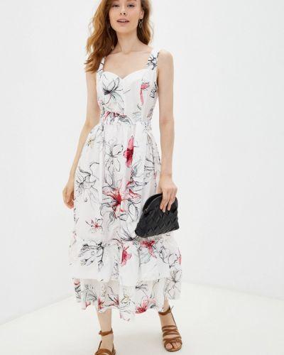 Белое весеннее платье элис