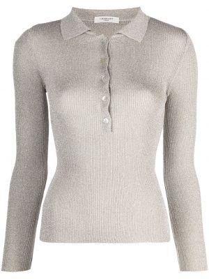 Рубашка с длинным рукавом - серая Charlott