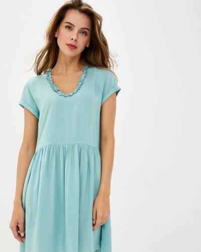 Платье бирюзовый весеннее Top Secret