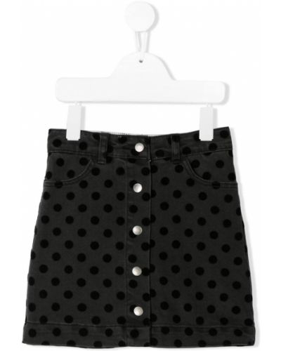 Dżinsowa spódnica elastyczna z nadrukiem Stella Mccartney Kids