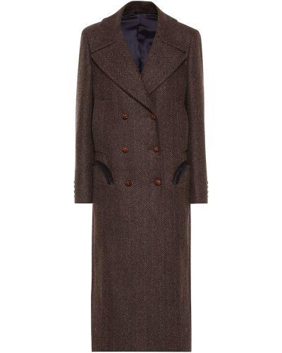 Шерстяное пальто классическое Blazé Milano